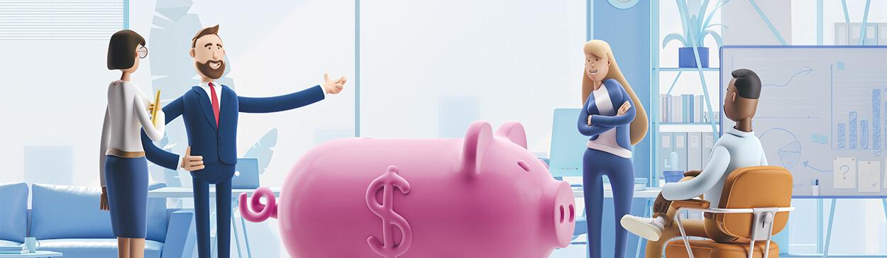 Docbox - günstig kaufen - Sparschwein